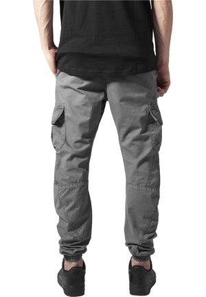 JOGGING - Cargo trousers - darkgrey