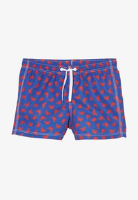 Benetton - SWIM TRUNKS - Uimashortsit - blue/red - 2