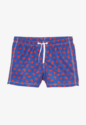SWIM TRUNKS - Plavky - blue/red