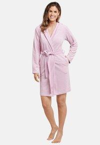 Schiesser - Dressing gown - rosa - 0