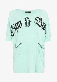 Cipo & Baxx - Jersey dress - mint - 8