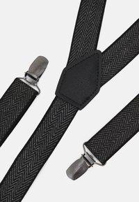 Burton Menswear London - BRACE - Belt - mid grey - 4