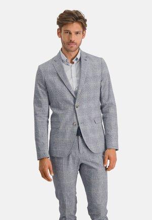 Blazer jacket - cobalt/white