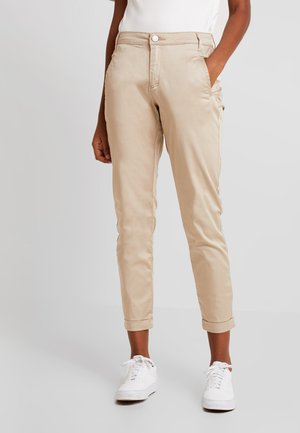 VICHINO RWRE 7/8 NEW PANT-NOOS - Jeans straight leg - soft camel