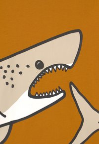 Lindex - PLACED SHARK - Longsleeve - dark dusty yellow - 2