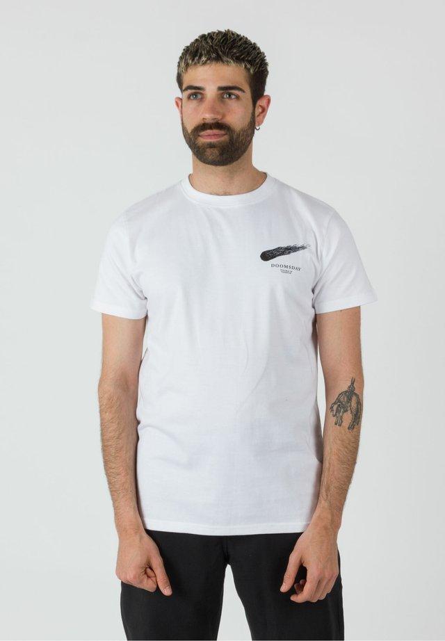 DINOSAUR - Print T-shirt - white