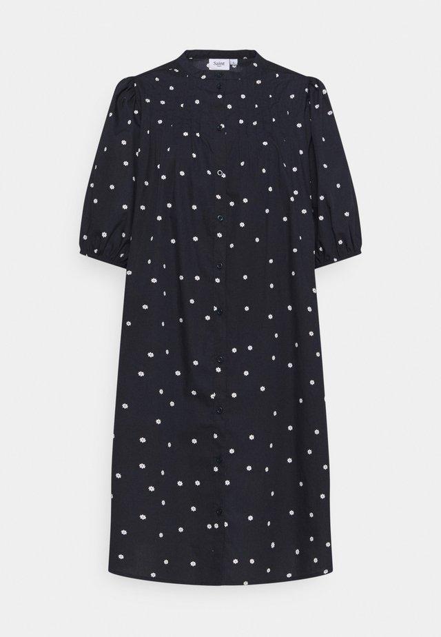 Korte jurk - blue deep