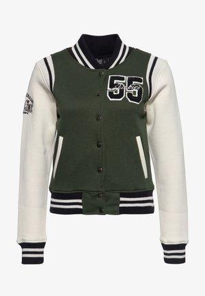 GASOLINE JUNKIES - Light jacket - olivgrün