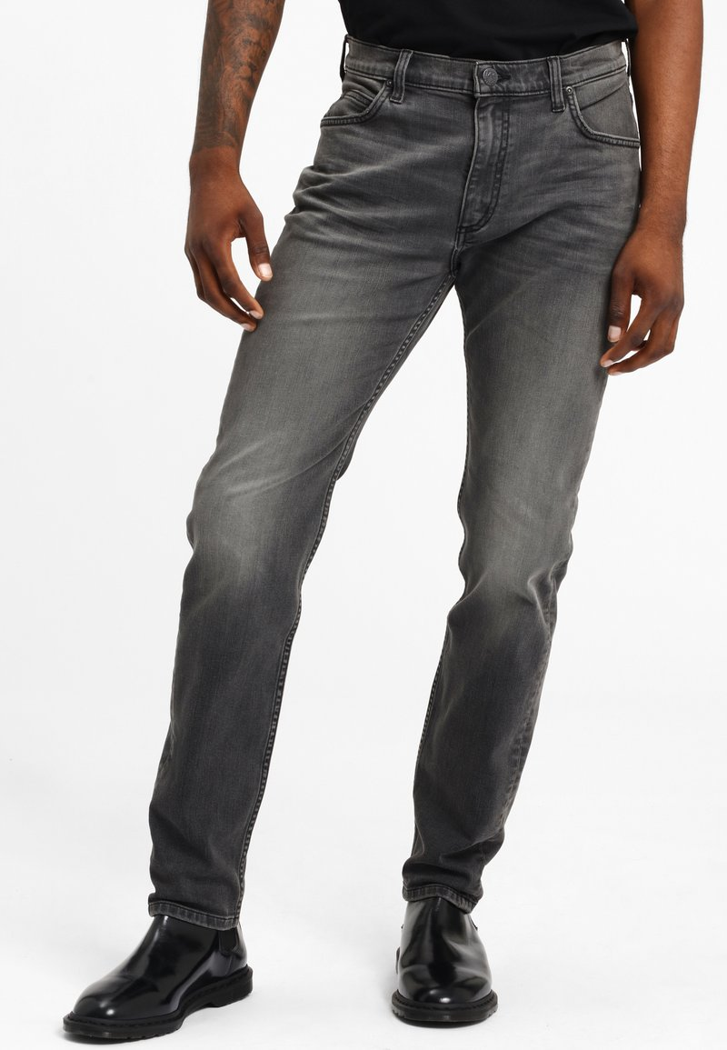 Lee - RIDER - Slim fit jeans - moto worn in