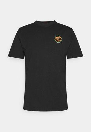 TOXIC HAND UNISEX  - Print T-shirt - black