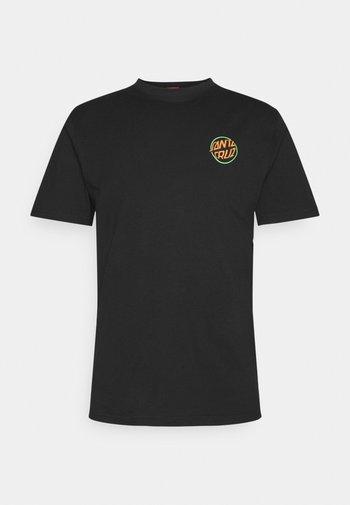 TOXIC HAND UNISEX  - T-shirt imprimé - black