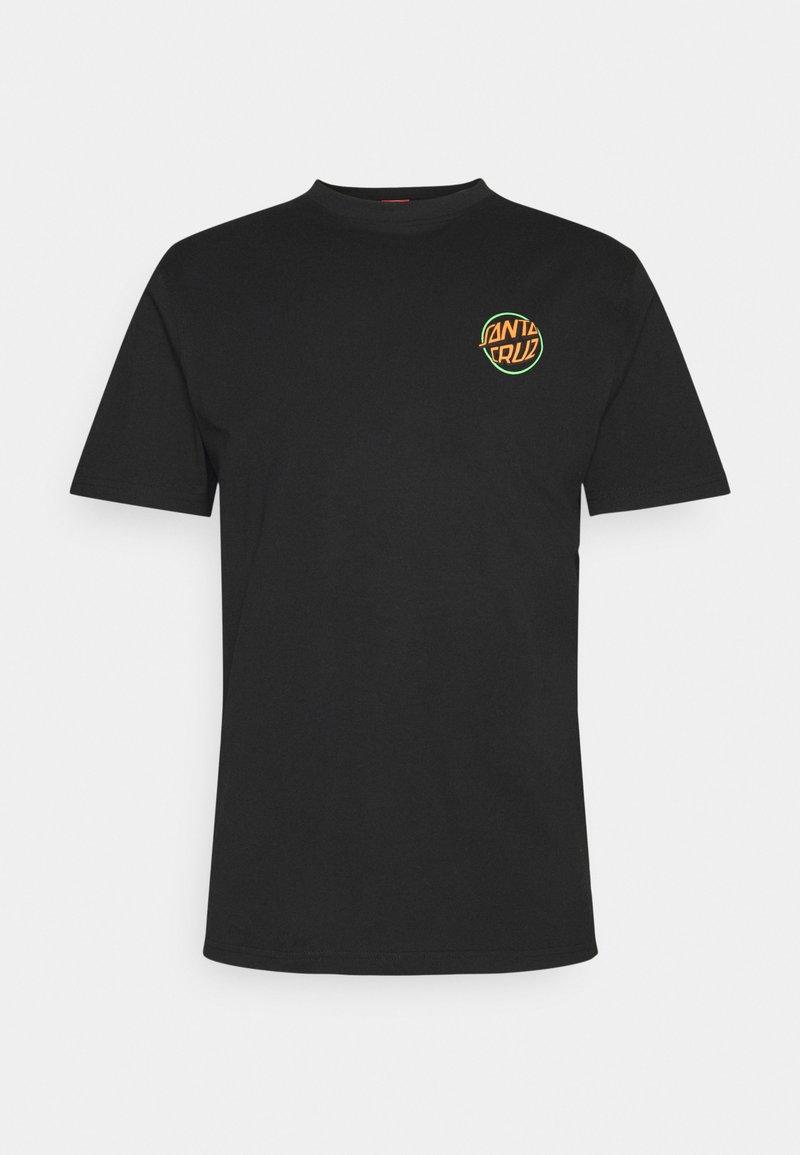 Santa Cruz - TOXIC HAND UNISEX  - Print T-shirt - black