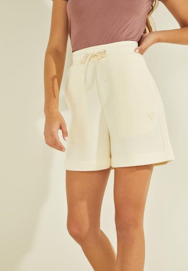 LOGODREIECK - Pantaloncini sportivi - weiß