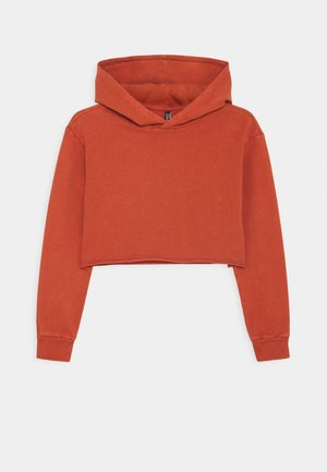 GIRLS BOXY HOODIE - Sweat à capuche - rost used