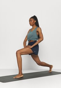 Cotton On Body - DOUBLE LAYER PETAL HEM SHORT - Sports shorts - navy - 1