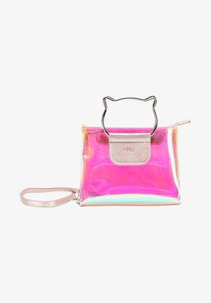 Handbag - rosa holo