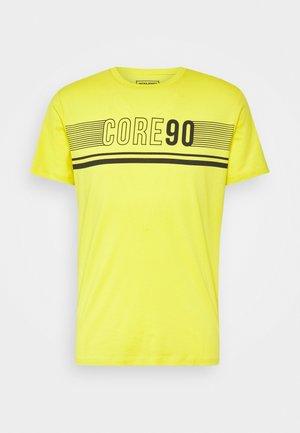 JCOICONIC TEE CREW NECK - T-shirts print - sulphur