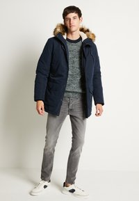 Jack & Jones - JJSKY  - Parka - navy blazer - 2