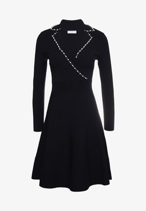 SUITY - Strickkleid - black