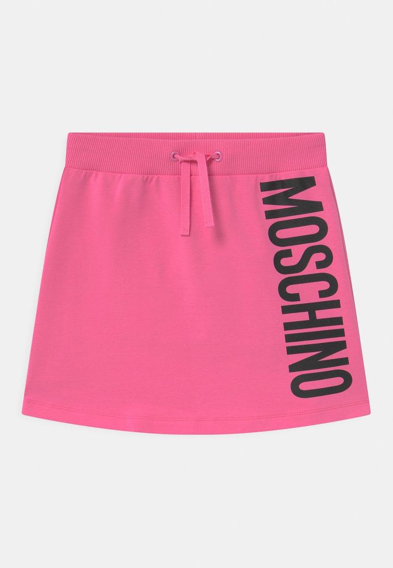 MOSCHINO - Mini skirt - azalea pink