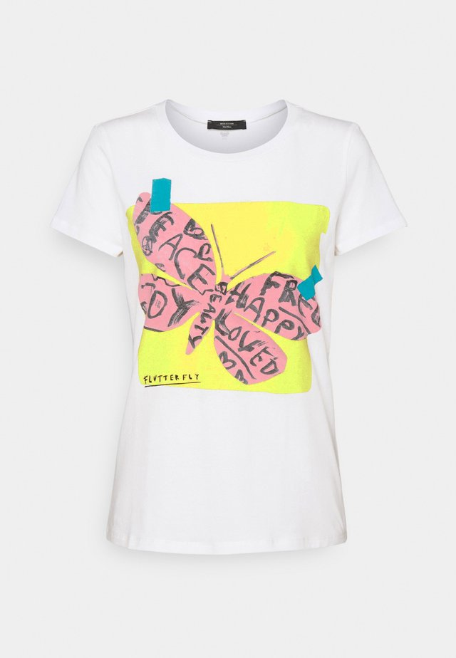SELVA - T-shirt print - weiss