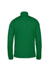 adidas Performance - Felpa con zip - team green / white - 1