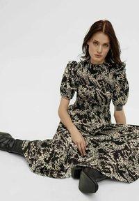 Object - Maxi dress - black - 5