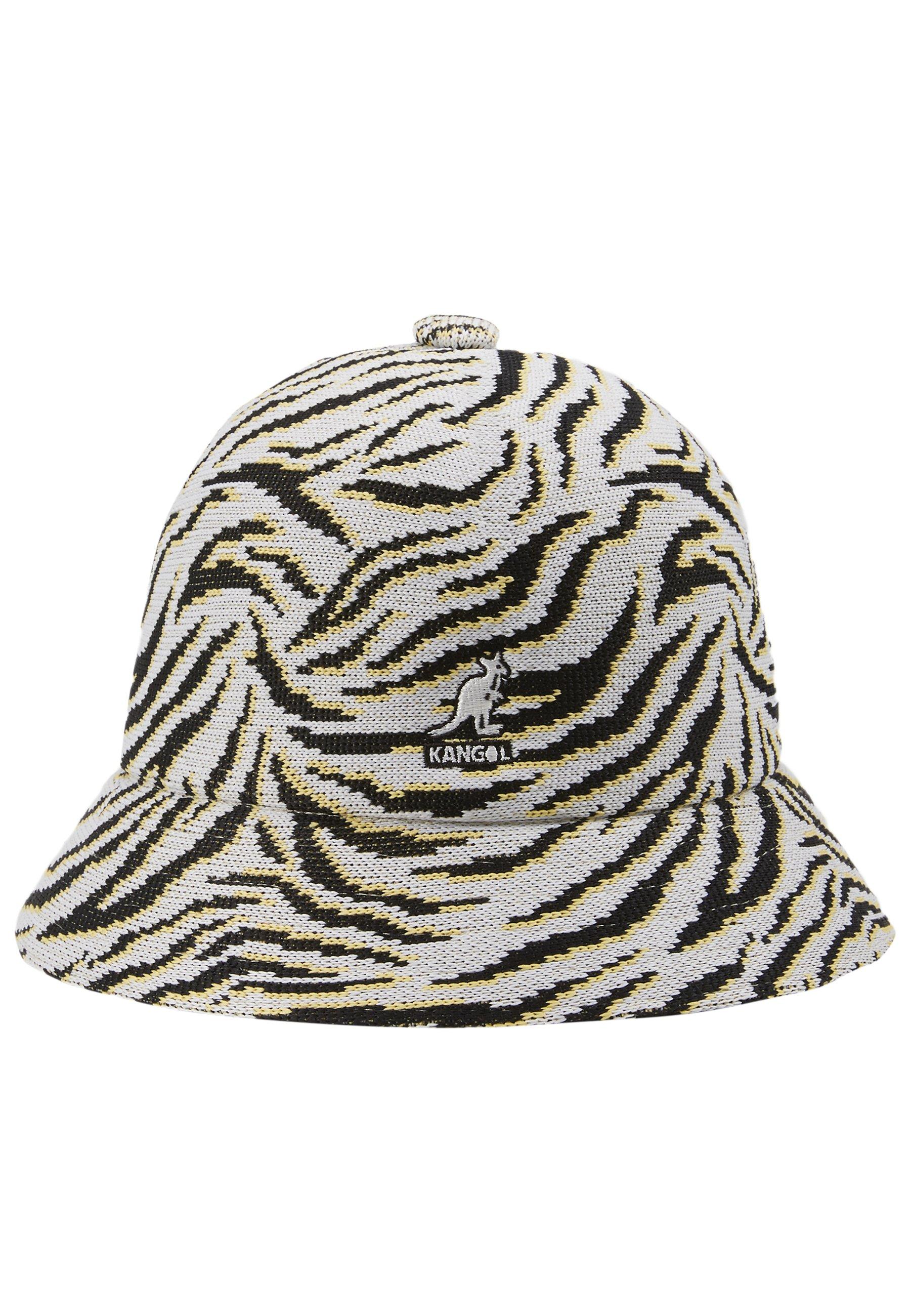 Kangol CARNIVAL CASUAL - Hatt - white/black/hvit E3gciVhyHaSURLa