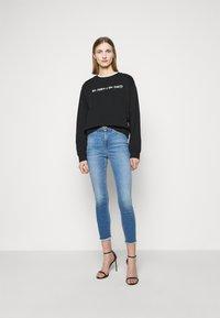 Pinko - ALGEBRA MAGLIA - Sweatshirt - black - 1
