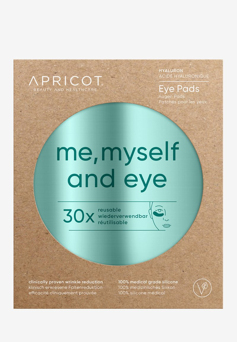 APRICOT - EYE PADS WITH HYALURON - Cura degli occhi - -