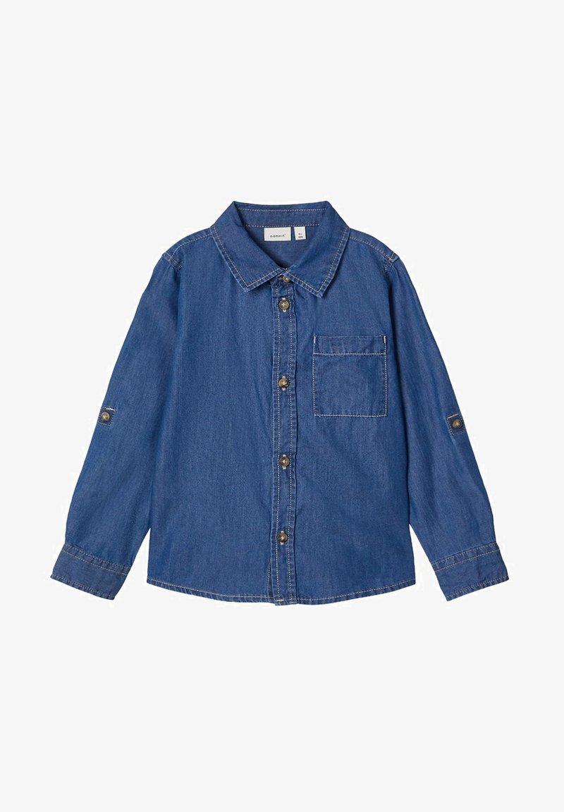 Name it - Overhemd - dark blue denim