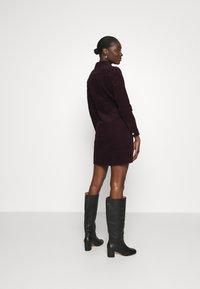 Dorothy Perkins - STRUCTURED SHIRT DRESS - Shirt dress - purple - 2