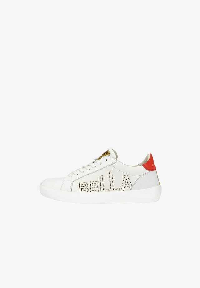 MIT CIAO BELLA - Sneakers laag - weiß rot