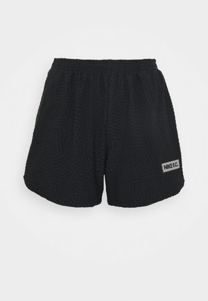 SHORT - Sports shorts - black/dk grey heather