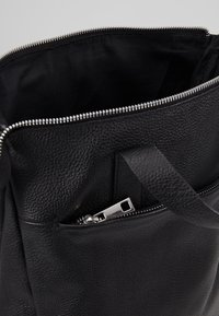 Zign - UNISEX LEATHER - Rucksack - black - 5