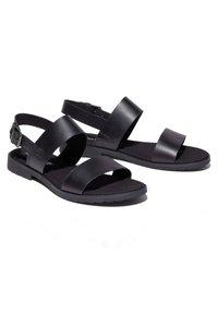 Timberland - Varrelliset sandaalit - black - 4