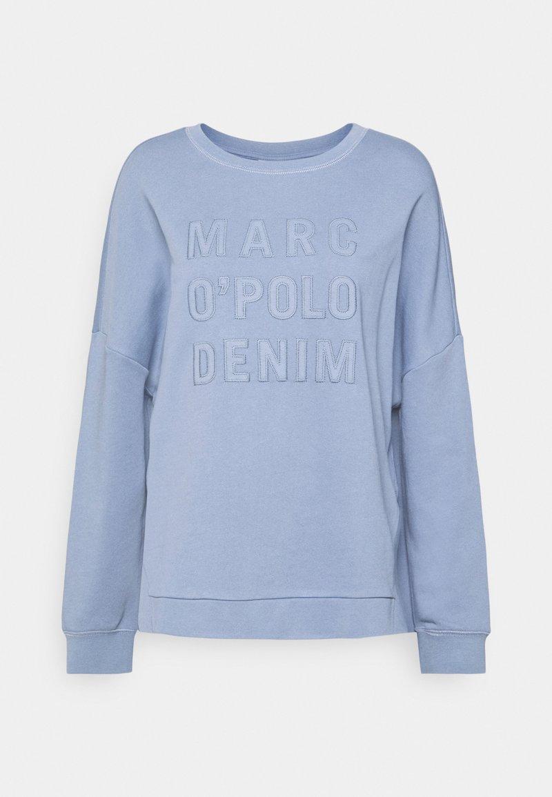 Marc O'Polo DENIM - LONGSLEEVE SLITS AT SIDESEAMS - Sweatshirt - soft heaven