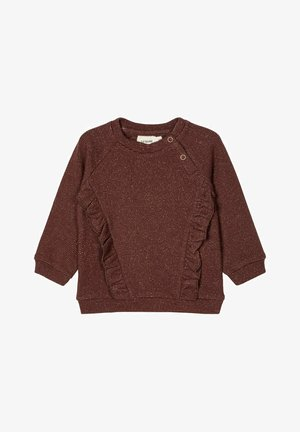 Sweater - deep mahogany