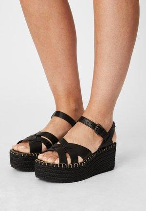 WITNEY RIVER - Sandály na platformě - black