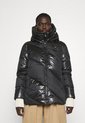 FASHION MAT MIX JACKET - Krátký kabát - black