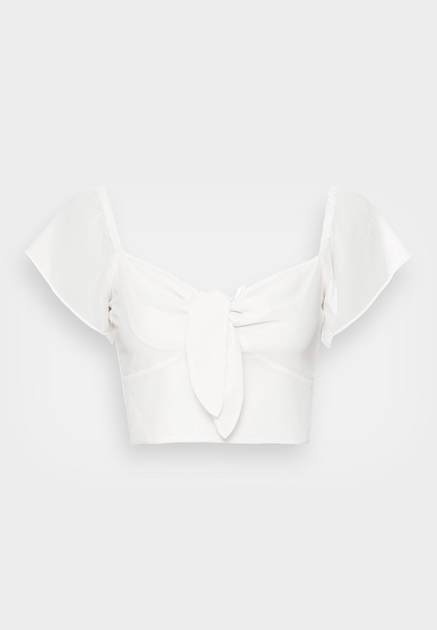 Women FRONT TIE  - Print T-shirt