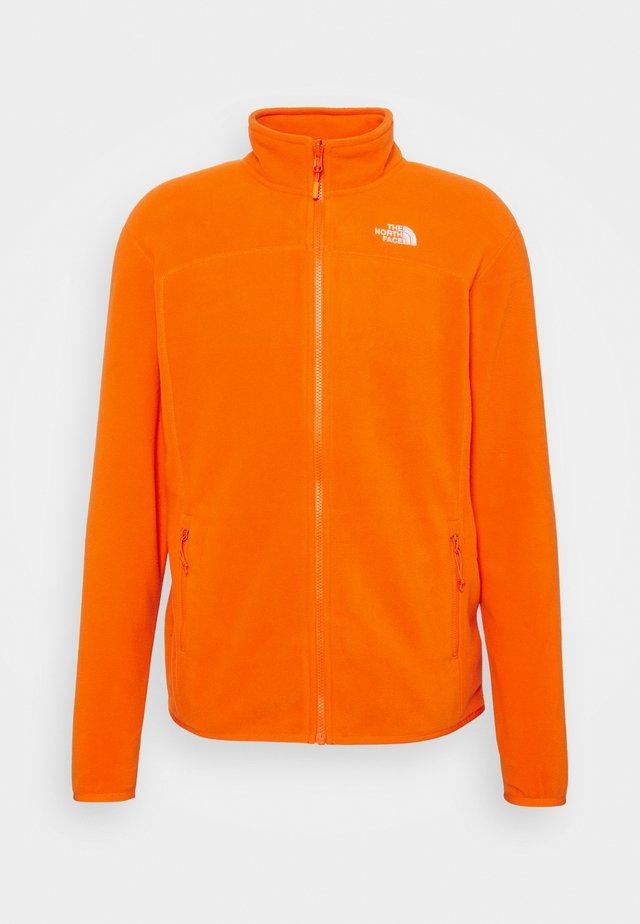 GLACIER FULL ZIP NEW - Fleece jacket - flame