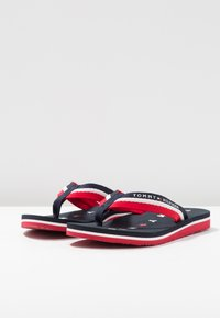 Tommy Hilfiger - LOVES BEACH - Sandaler m/ tåsplit - blue