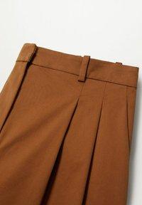 Mango - Trousers - bruin - 7