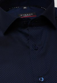 Eterna - MODERN FIT - Shirt - marineblau - 5