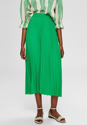 SLFALEXIS SKIRT - Jupe trapèze - bright green