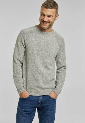 Stickad tröja - light khaki