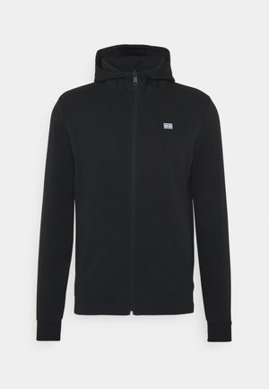 MODERN ESSENTIALS ZIP THRU HOODY - Zip-up hoodie - black