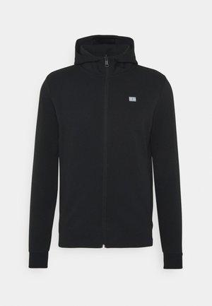 MODERN ESSENTIALS ZIP THRU HOODY - Bluza rozpinana - black