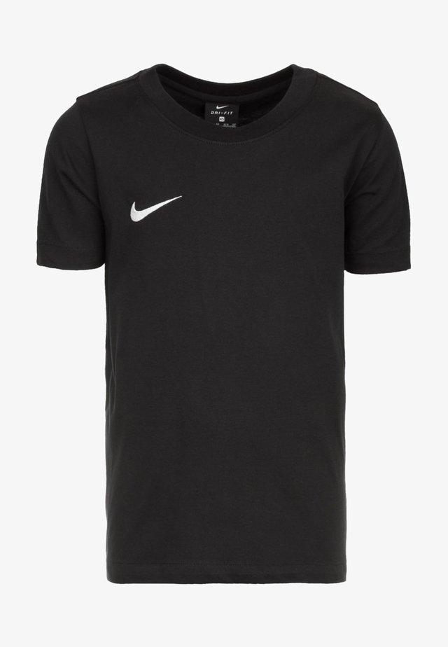 CLUB19 TM  - T-shirt basic - black/white